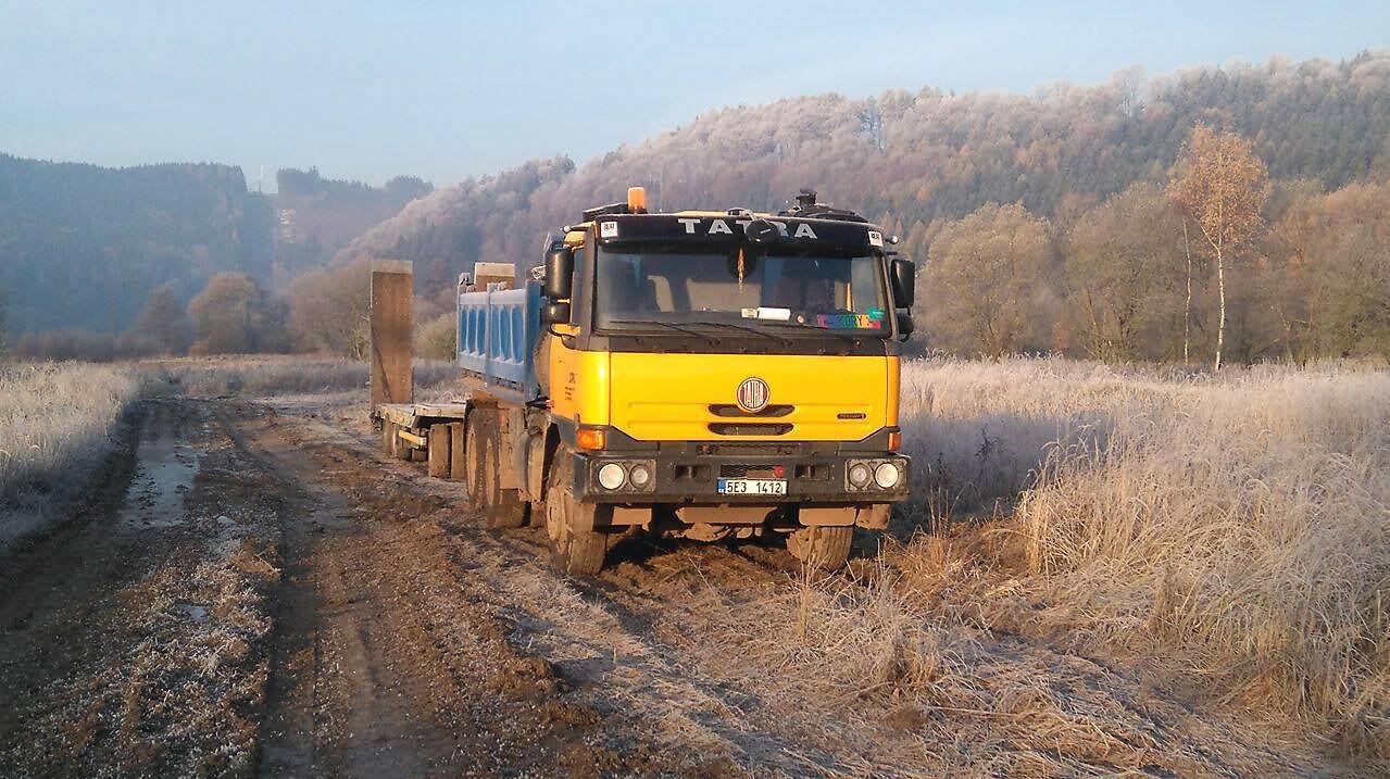 Doprava a přeprava - Zemní práce Lidmila